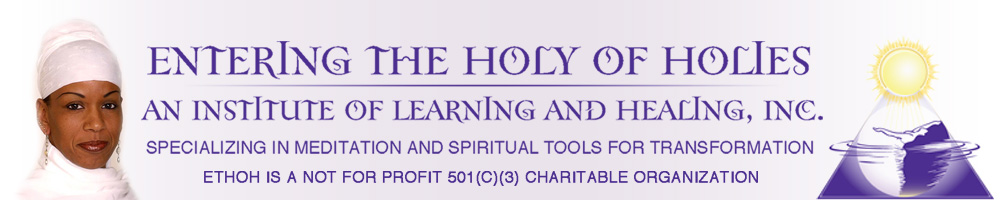 Entering the Holy of Holies Logo